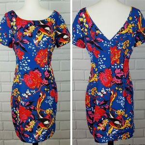 PLENTY BY TRACY REESE Floral Bodycon Dress  A11-20